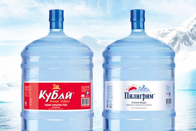"вода ""Кубай"" и ""Пилиграм"""