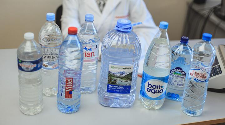 Лучшая бутилированная вода. Рейтинги экспертов